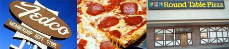 FedcoVsRoundTablePizza