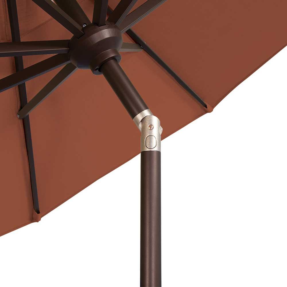 catalina 9 ft round sunbrella patio umbrella