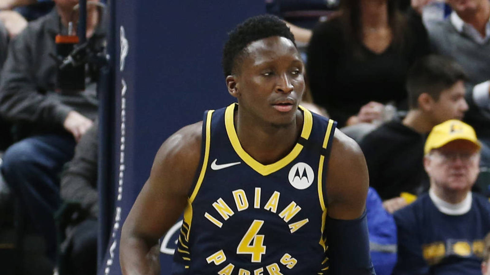Photo of Pacers guard Victor Oladipo opts out of the rest of NBA season in Orlando