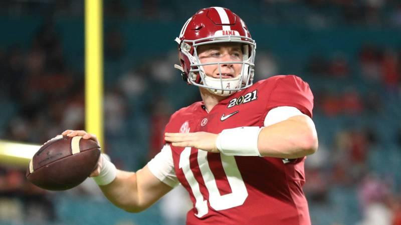 QB Mac Jones compares draft profile to Tom Brady's | Yardbarker