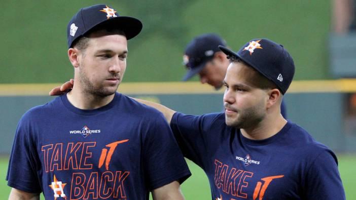 José Altuve y Alex Bregman