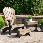 Poly Adirondack Deluxe Single Chair Set Yardcraft