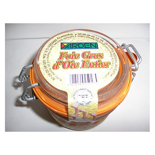 Foie gras d'oie entier bocal