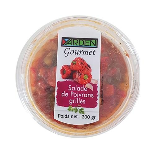 salade e poivrons grillés Yarden Gourmet