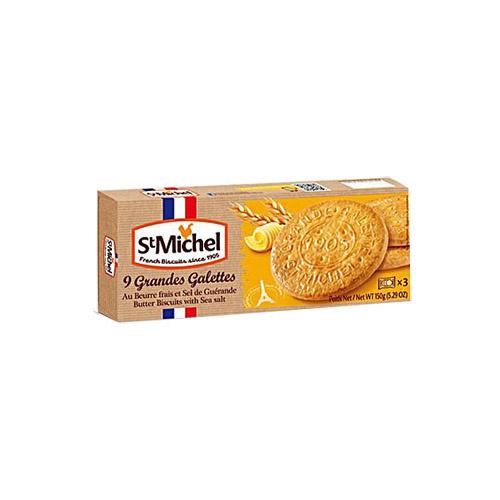 Grandes galettes Saint Michel au beurre et sel de Guérande