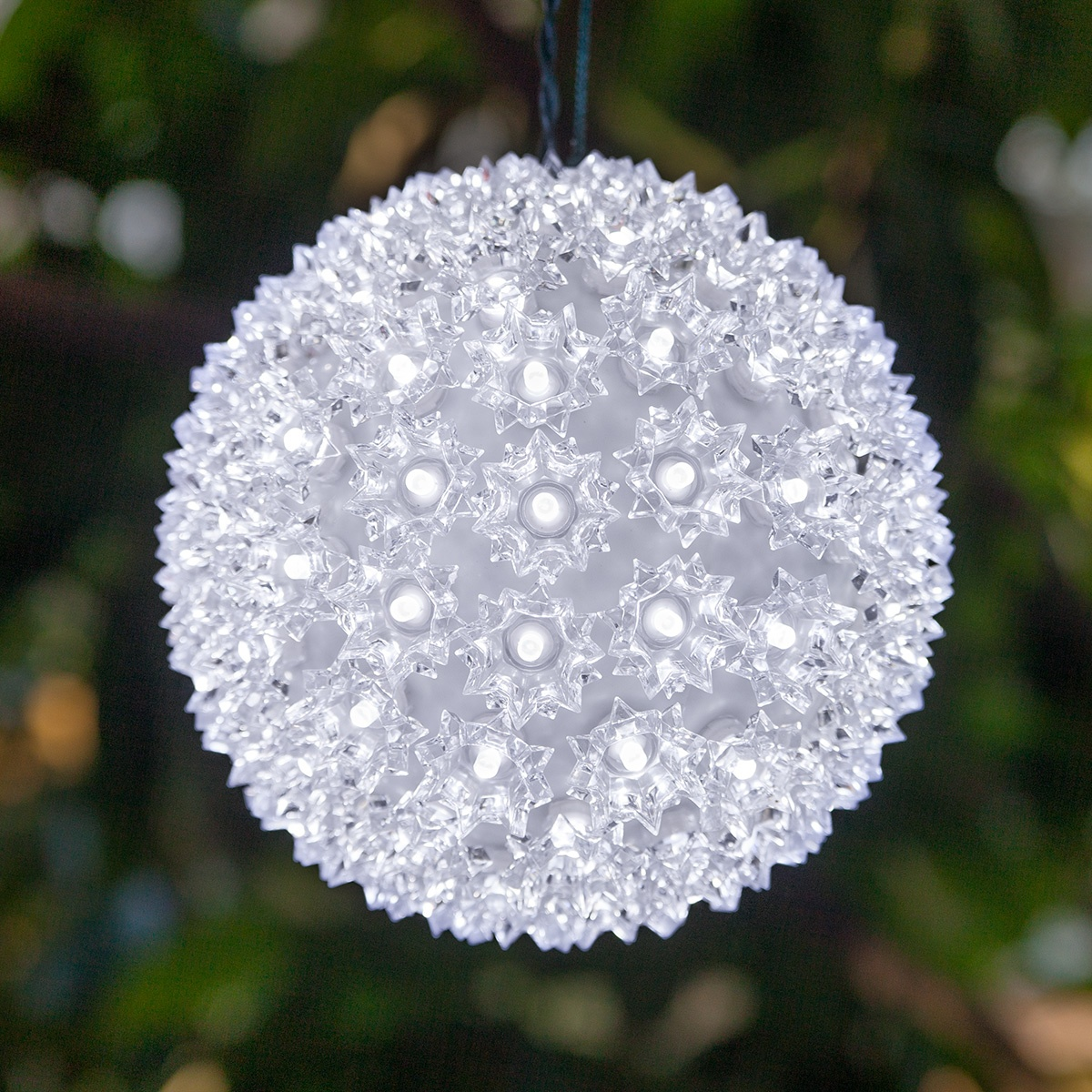 Light Sphere Cool White Led Yard Envy
