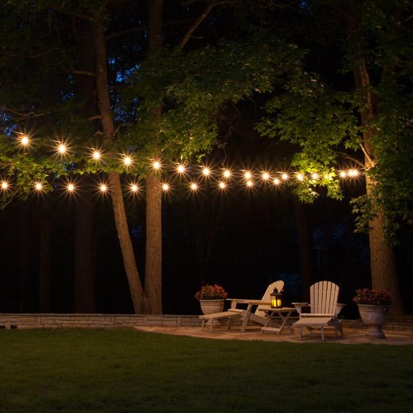 Patio String Lights - Yard Envy on Backyard String Light Designs id=47462