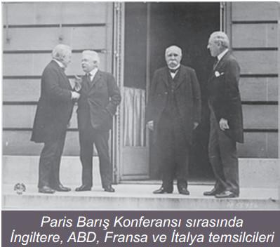 paris barış konferansı ile ilgili görsel sonucu