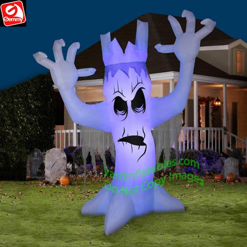 Gemmy Airblown Inflatable 12 Short Circuit Scary Tree