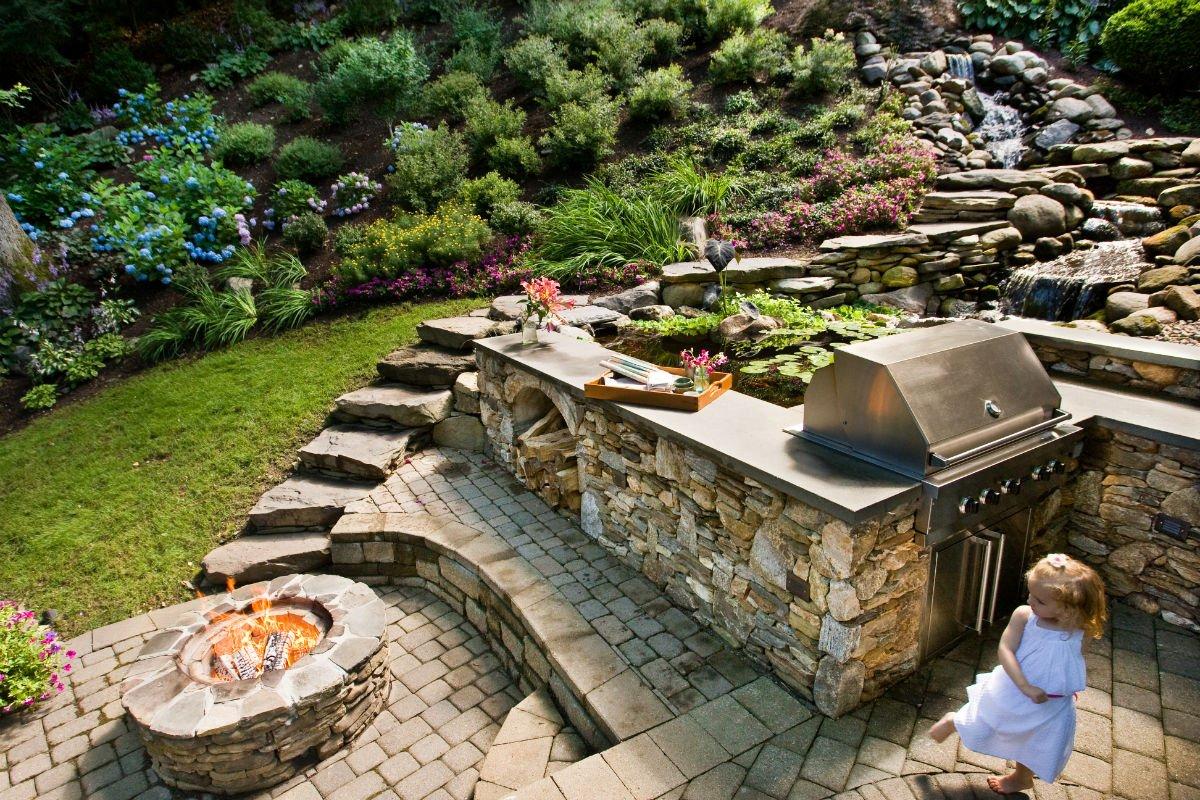 outdoor kitchen New Milford CT