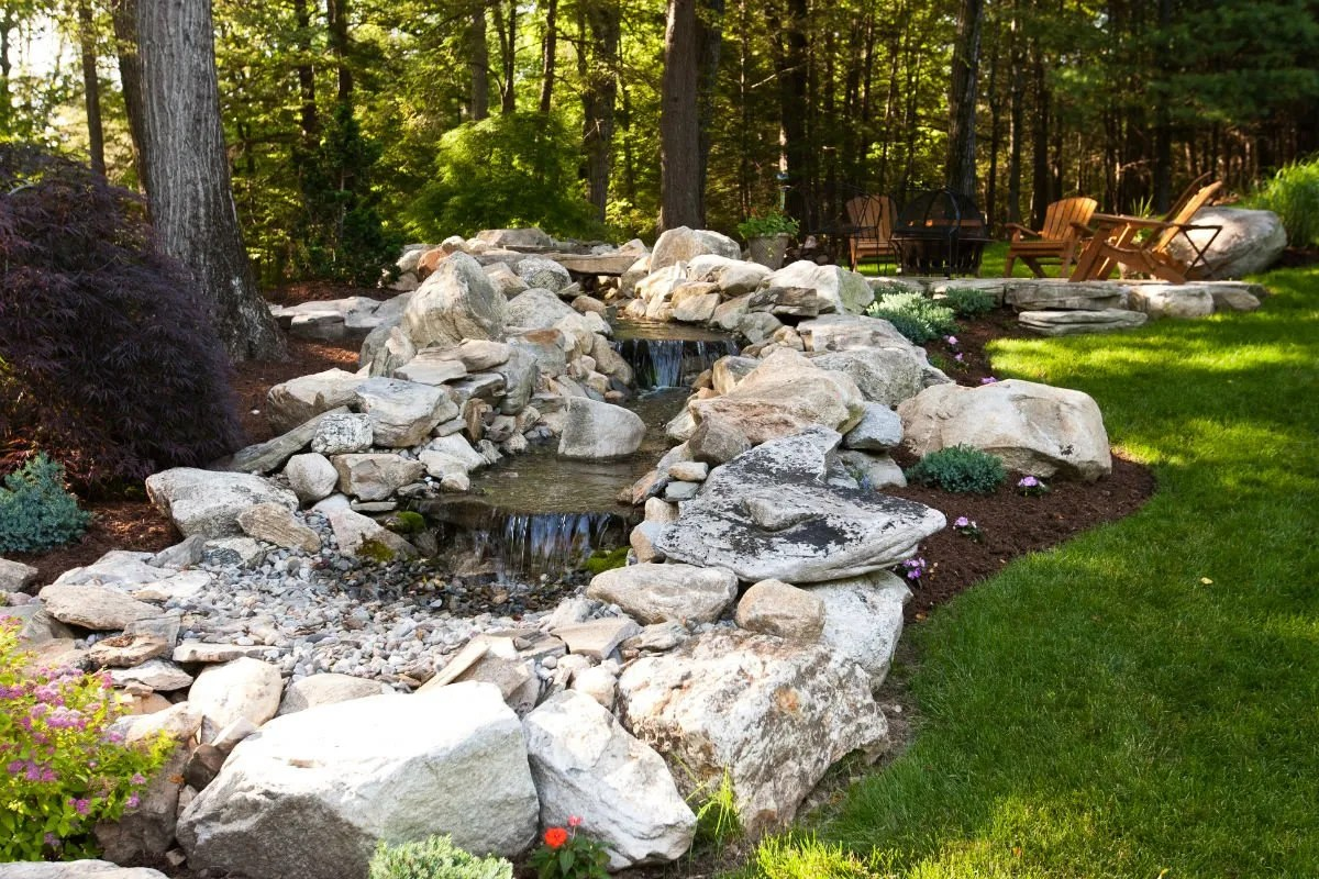 pondless waterfall New Milford CT
