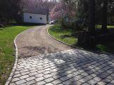 Washington CT Cobblestone aprons & curbing