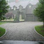 gravel driveway Southbury CT