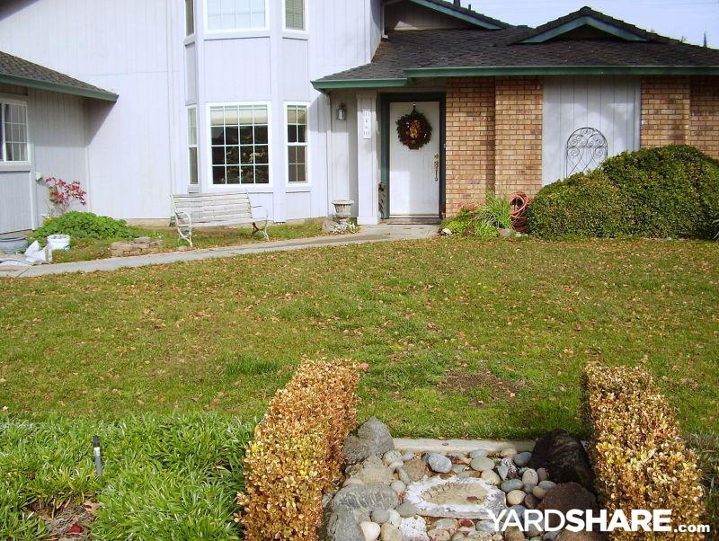 Landscaping Ideas > Front Yard Renovation   YardShare.com on Front Yard Renovation Ideas id=82221