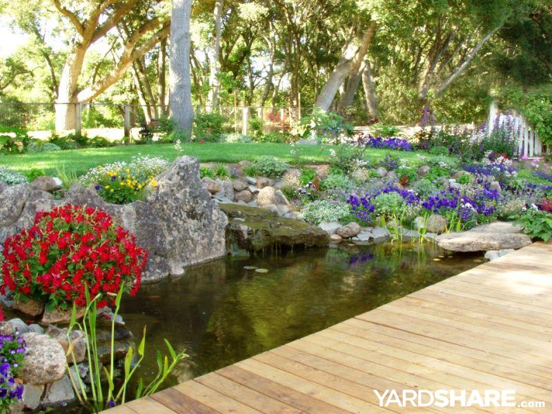 Landscaping Ideas > Backyard Stream   YardShare.com on Backyard Stream Ideas id=48205