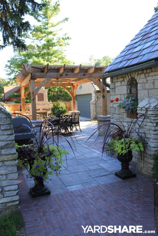 Landscaping Ideas > Side yard party patio | YardShare.com on Side Patio Ideas id=45282