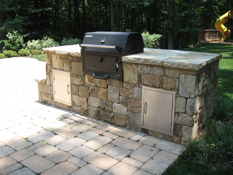 The Thrill of the Grill | Yard Ideas Blog | YardShare.com on Built In Grill Backyard id=24160