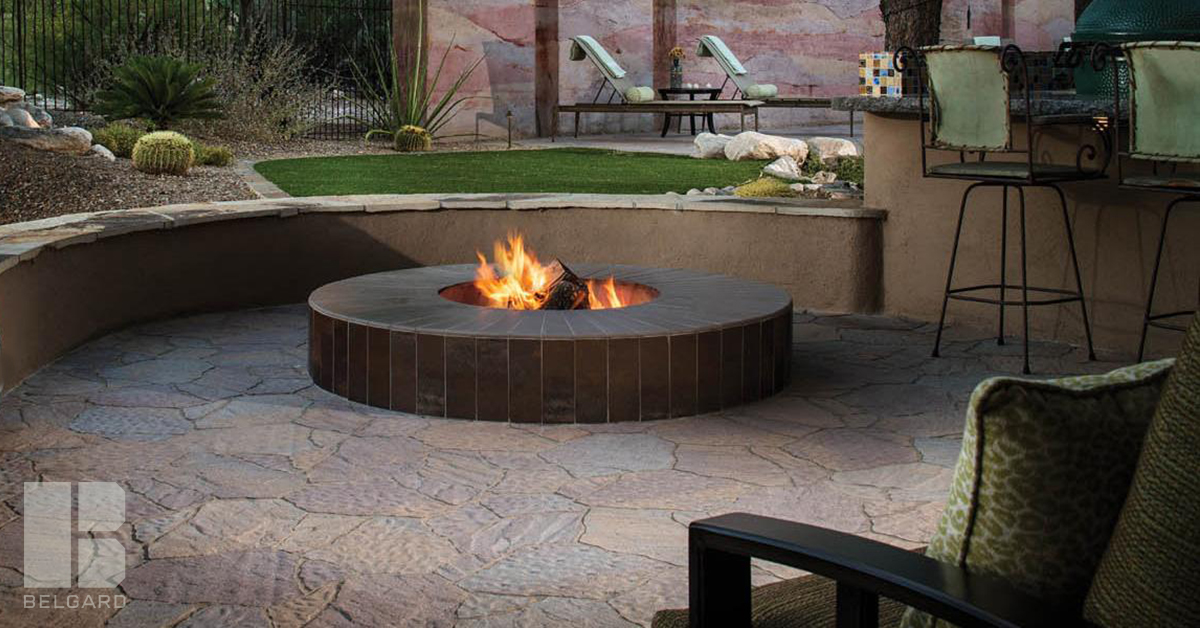 the benefits of a backyard fire pit