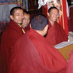 The Monks of Nechung Monastery
