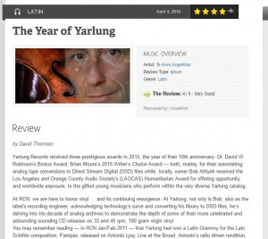 "Record Collector News: ""The Year of Yarlung"""