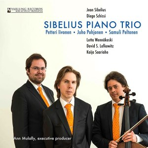 Sibelius Piano Trio CD Cover