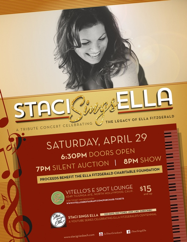 Staci Sings Ella Fitgerald at Vitellos