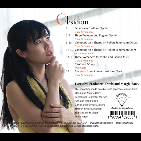 Obsidian | Mika Sasaki | Clara Shumann