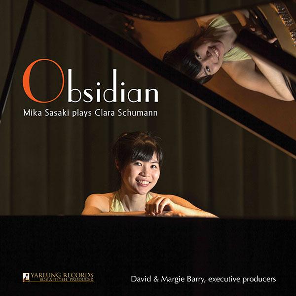 Mika Sasaki | Obsidian | Clara Shumann