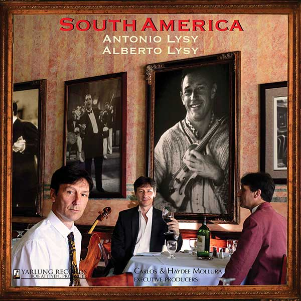 South America | Antonio Lysy | cover