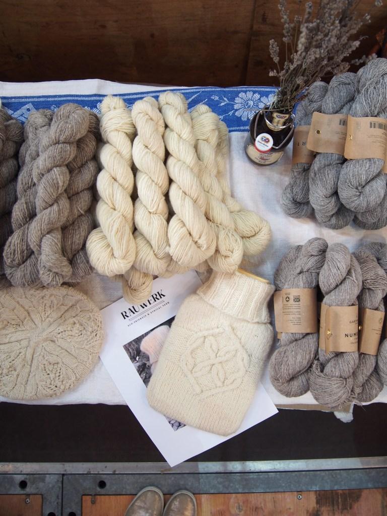 Wolle, gestrickt, Wärmeflasche, Rauwerk