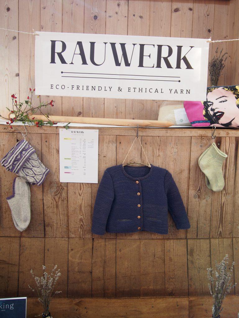 Wollmarkt Vaterstetten Rauwerk, Wolle, Kinderstrickjacke, Socke