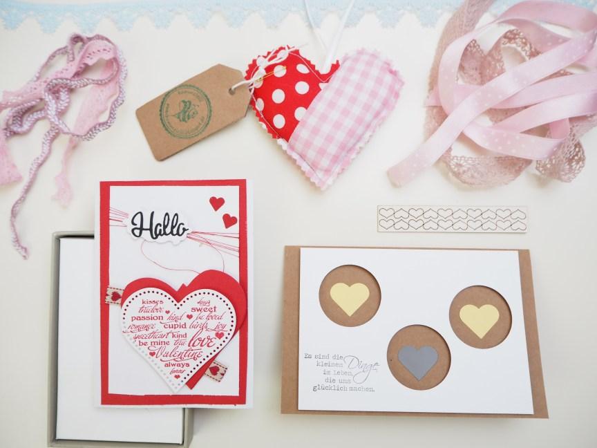 Karten, Basteln, Ein Herz für Blogger, Herz