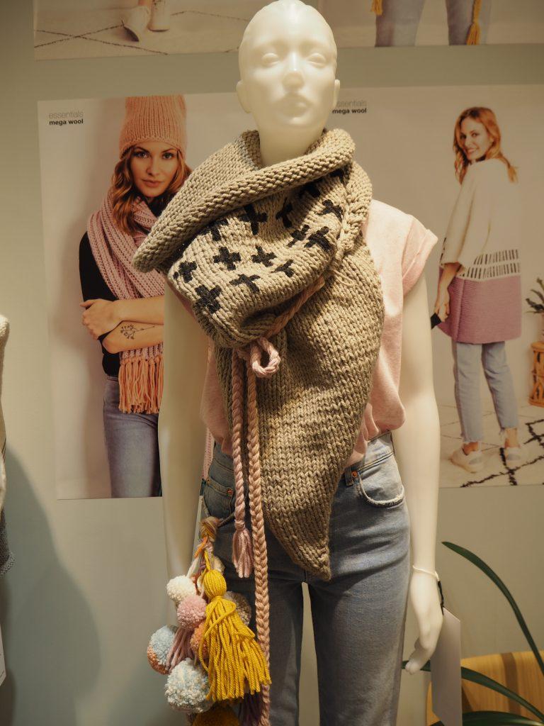 Farbdruck auf Wolle, Rico Design, Messebericht H+H Cologne 2019