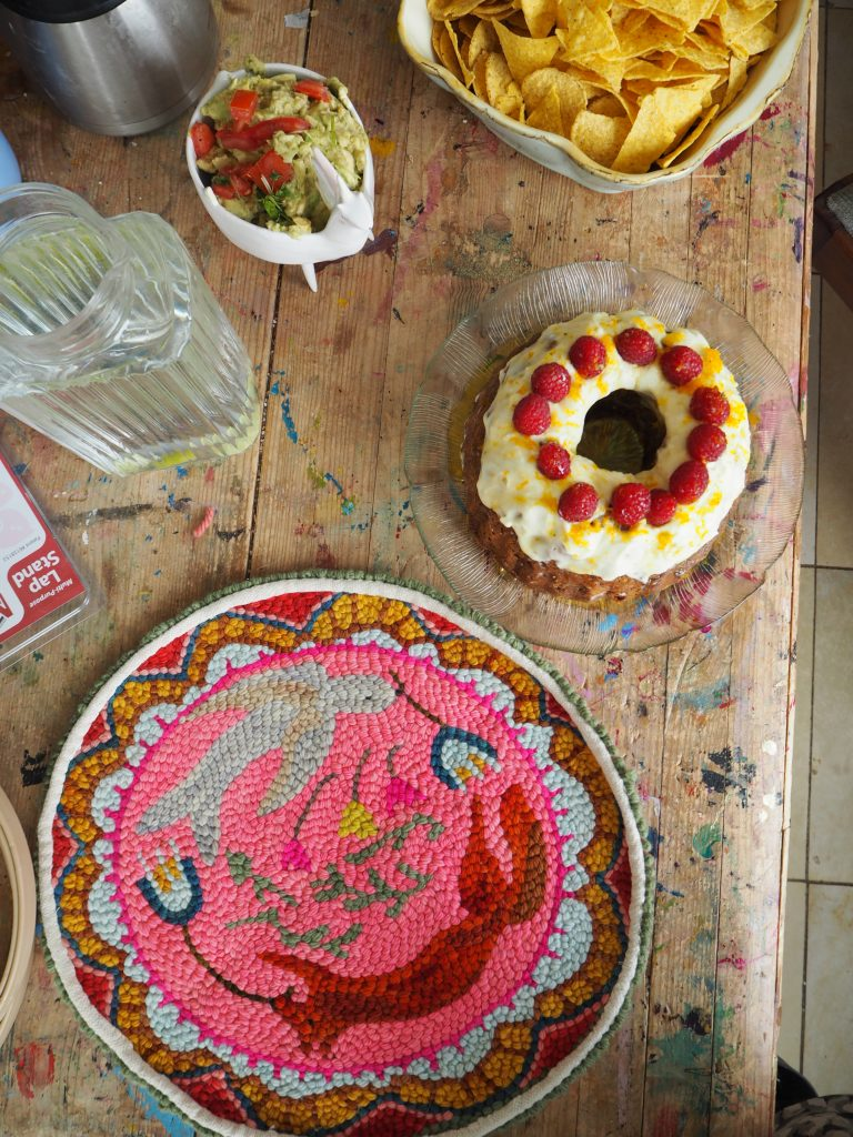 Punch Needle Art, Workshop, Kuchen