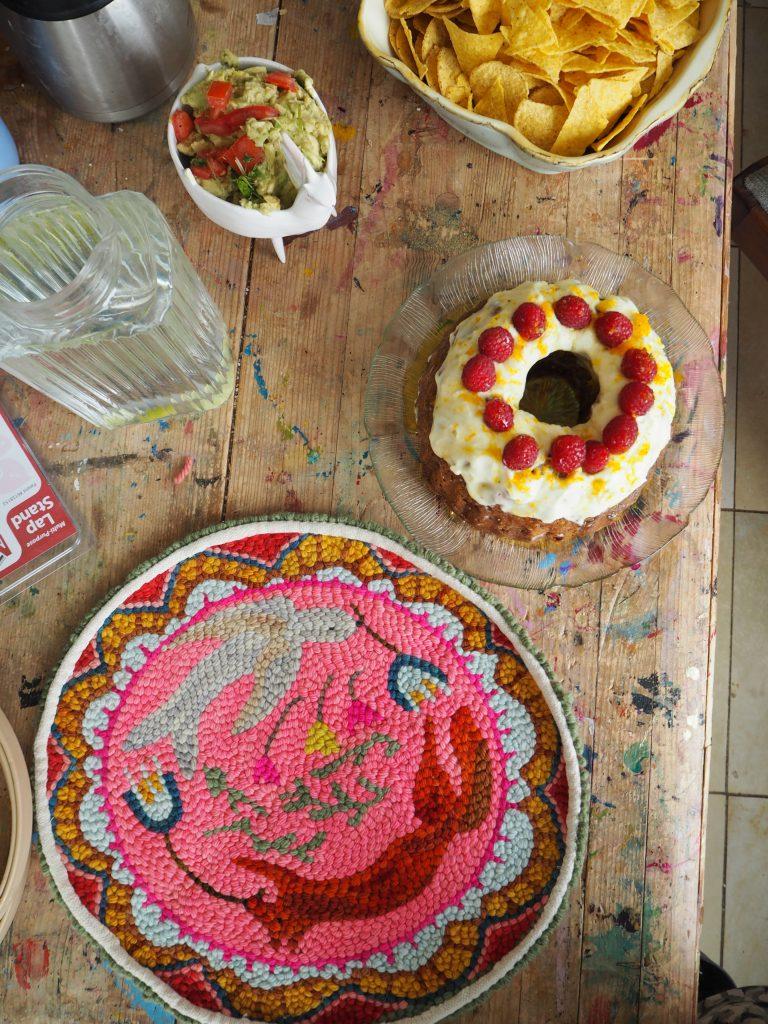 Punch Needle Art, Workshop, Kuchen