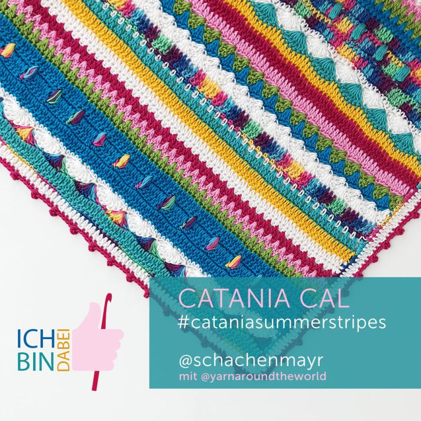 Catania Summerstripes CAL, Schachenmayr