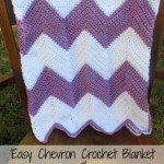 Crochet Chevron Blanket (with Pattern)