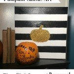 Simple Pumpkin Decor for Fall