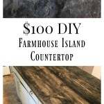 DIY Rustic Farmhouse Island for $100