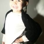 Chunky Crochet Bolero Jacket for Kids Ages 3-5 with FREE pattern link!