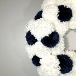 DIY Pottery Barn Inspired PomPom Christmas Wreath