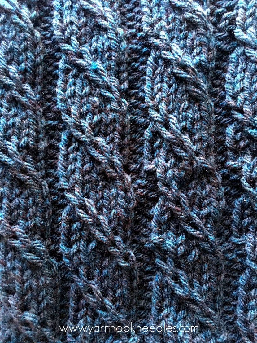 Twisted Trill Knitting Stitch with FREE Pattern Link ...