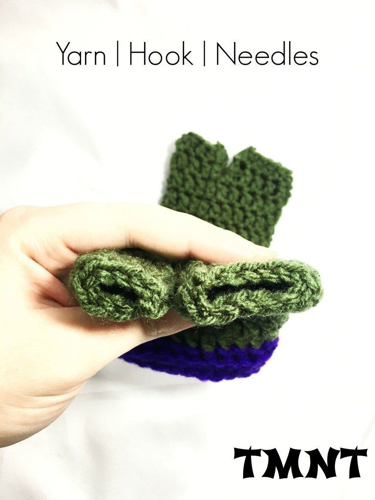 Tmnt Two Finger Crochet Gloves With Pattern Link Yhn