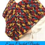 Easy Crochet Poncho with FREE Ravelry Pattern! – Yarn|Hook|Needles