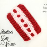 Valentine's Day Ear Warmer with FREE Pattern Link! – Yarn|Hook|Needles