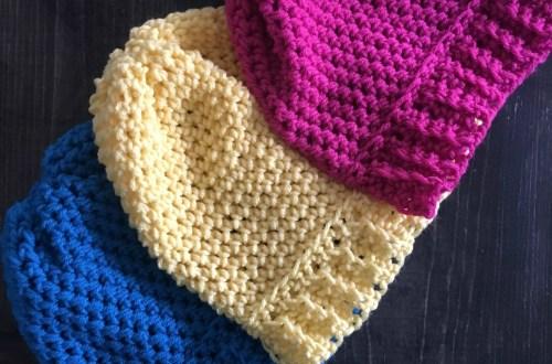 7517d2540ab Ribbed Crochet Beanie by BrennaAnnHandmade Etsy Shop – Yarn