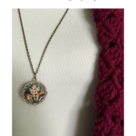 Maker Monday! Get this Hand Embroidered Necklace from SereneStitching Etsy Shop – YarnHookNeedles