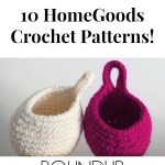 10 Crochet HomeGoods Patterns by YarnHookNeedles