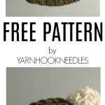 30 Days of Beanies! Try this Amazing Crochet Cable Beanie! Get the FREE Pattern at YarnHookNeedles!