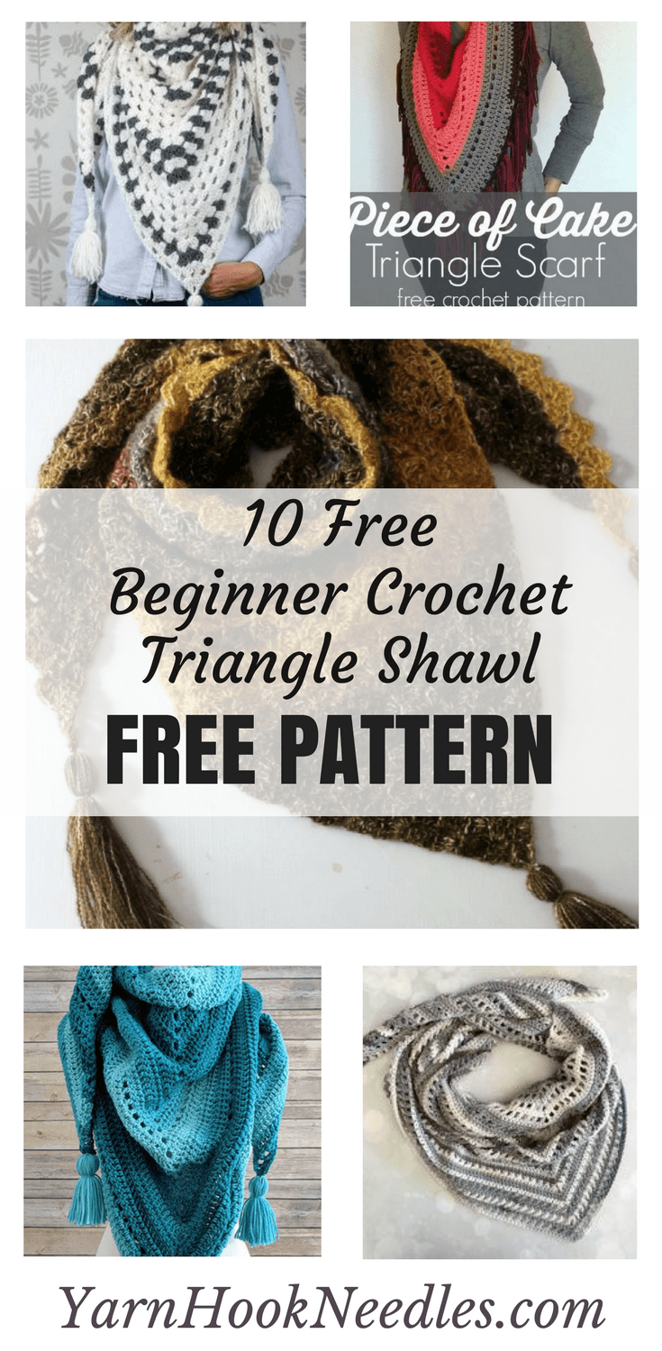 10 Simple Beginner Crochet Shawl Patterns For Free